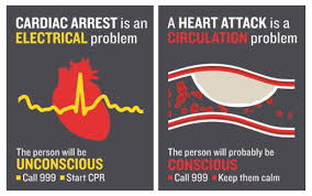 How cardiac arrests differ from heart attacks