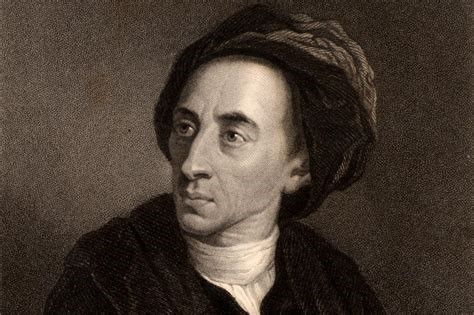 Portrait of Alexander Pope, born 1688, died 1744, aged 56